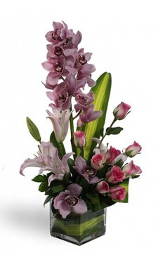 Luxury Cymbidium Orchid Bouquet